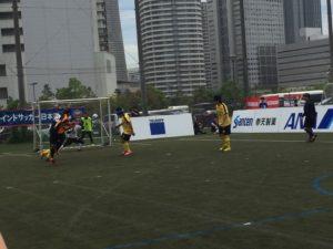 日本選手権でのシュートシーン